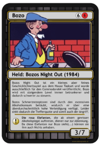 B1A2B9B6 178E 4273 8903 4B67FFD204AB 207x300 - Bozos Night Out (C64, 1984)