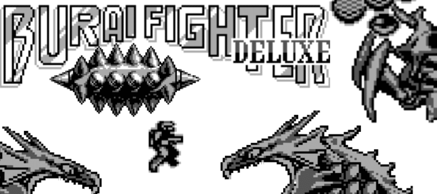 BFBoss 1 - Burai Fighter Deluxe (GameBoy, 1990)