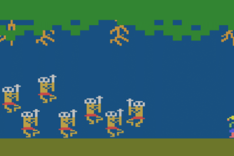 Jungle Hunt 480x320 - Jungle Hunt (Atari 2600, 1983)