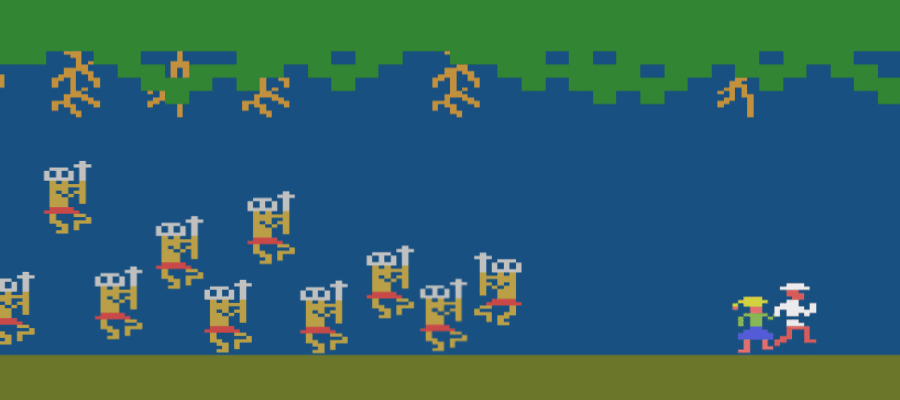 Jungle Hunt - Jungle Hunt (Atari 2600, 1983)