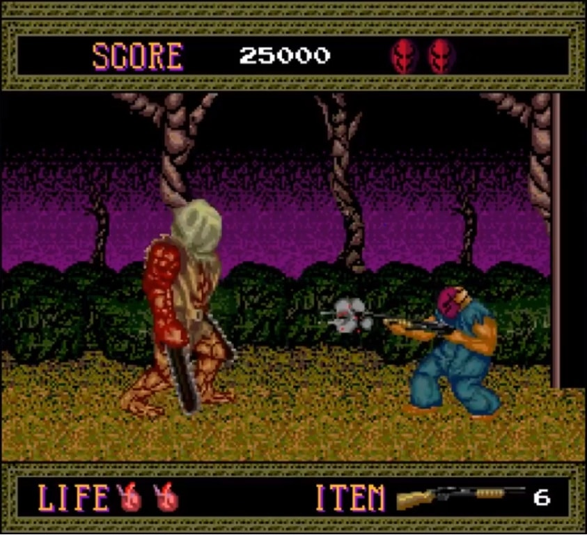 K splatboss002 - Splatterhouse (PC Engine,1990)