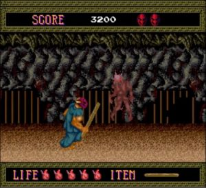 K splatsplat004 1 300x274 - Splatterhouse (PC Engine,1990)