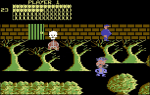 bozoforest 300x190 - Bozos Night Out (C64, 1984)