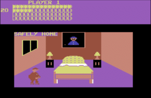bozohome 300x195 - Bozos Night Out (C64, 1984)