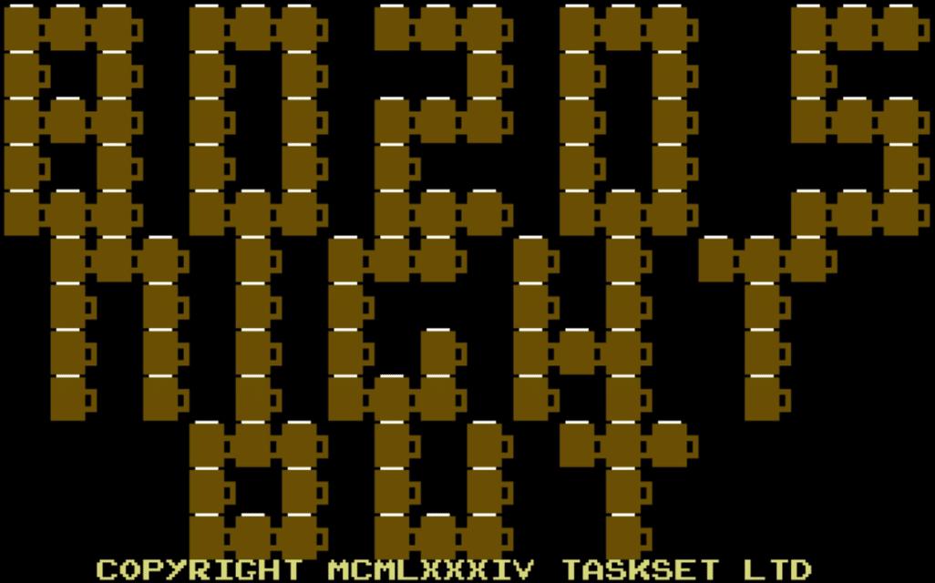 bozotile - Bozos Night Out (C64, 1984)