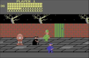 bozowalk 300x197 - Bozos Night Out (C64, 1984)