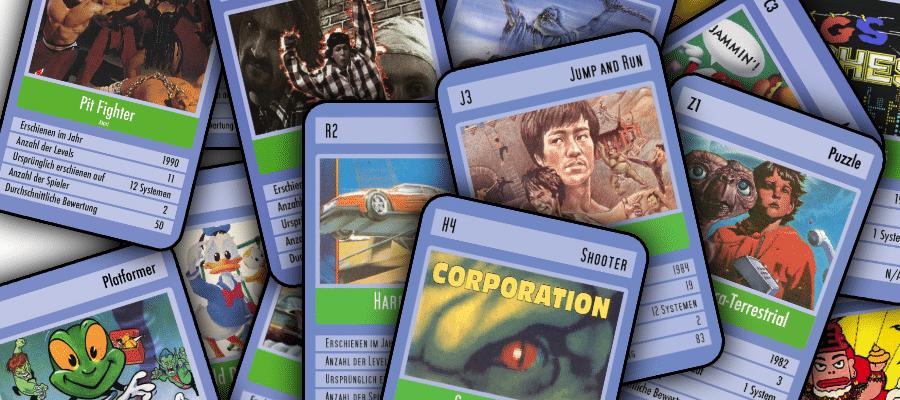 cards - Retropixels Season 1 - Quartettkartensammlung