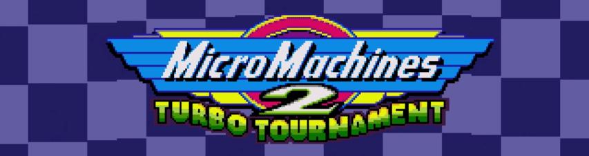mm2tttitle - Micro Machines 2 - Turbo Tournament (Megadrive, 1994)