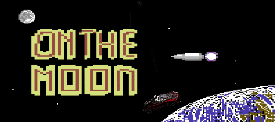 otm4 1 - On the Moon (C64, 1991)