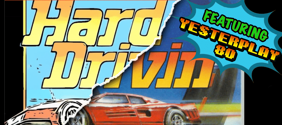 vdg HD 1 - Crossover - Superspecial: Hard Drivin' (C64/PC, 1989)
