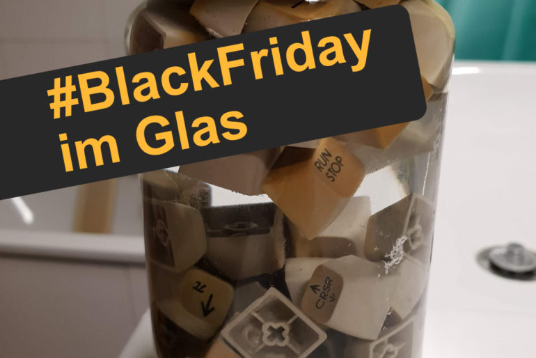 Black Friday im Glas