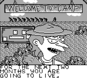 efcdtitle e1543599930215 300x270 - BS Escape from Camp Deadly (GameBoy, 1991)