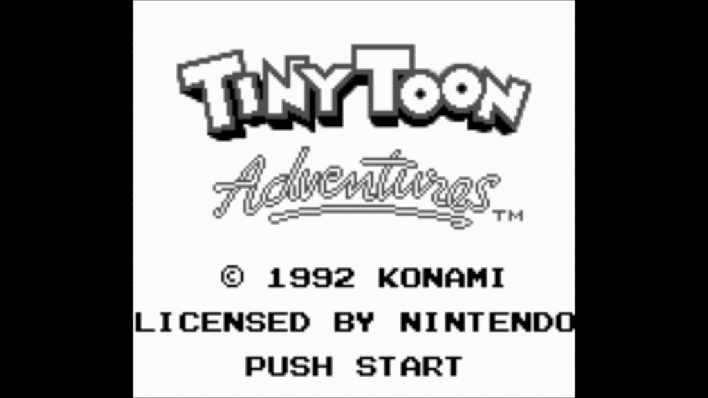 ttatitle 1024x576 - Tiny Toon Adventures - BBB (Game Boy, 1992)