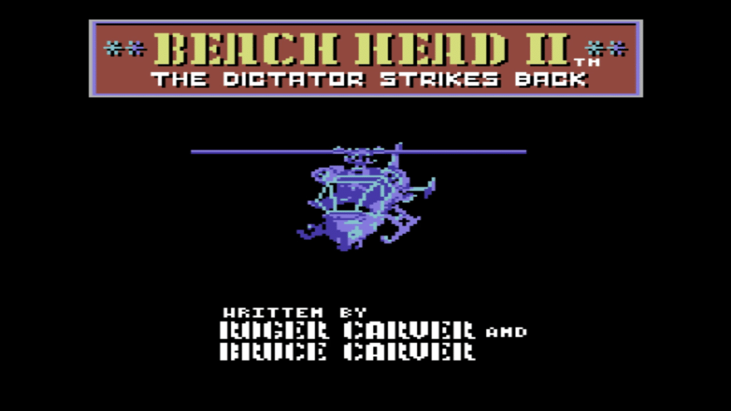 Beach Head II Title 1024x576 - Beach Head II (C64, 1985)