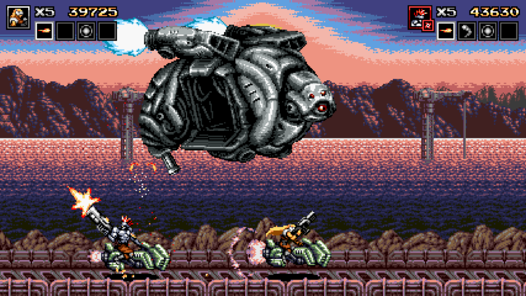 blazingchrome 1024x576 - Blazing Chrome (2019)