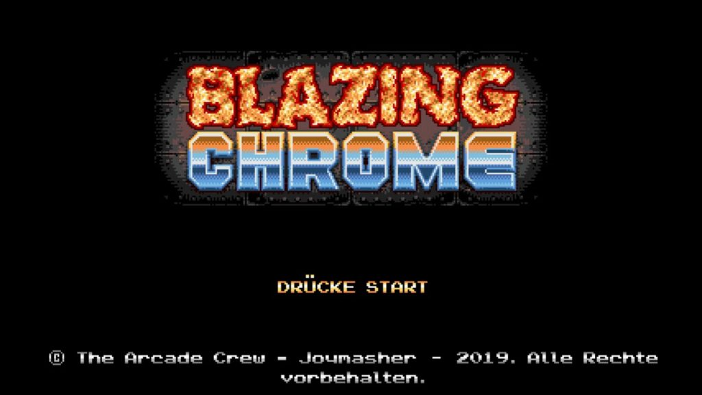 blazingchrome05 1024x576 - Blazing Chrome (2019)