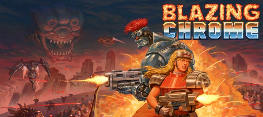blazingchromebb - Blazing Chrome (2019)