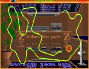 pworm02 300x234 - Pizza Worm (MS DOS, 1994)