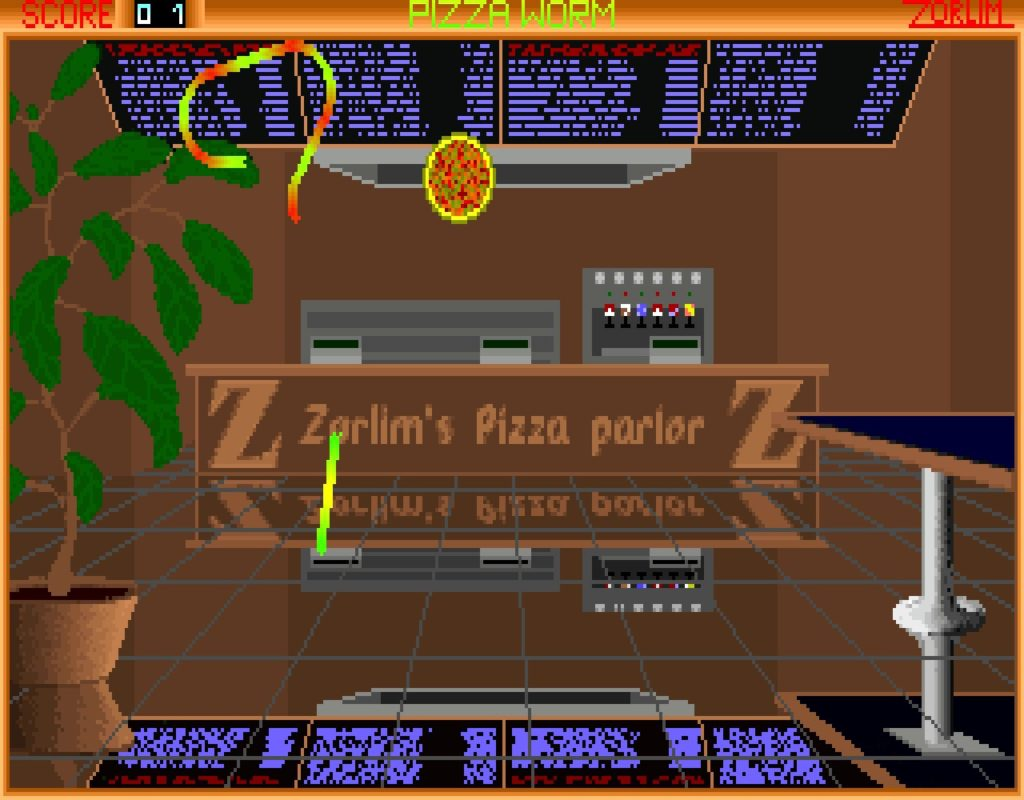 pworm03 1024x800 - Pizza Worm (MS DOS, 1994)