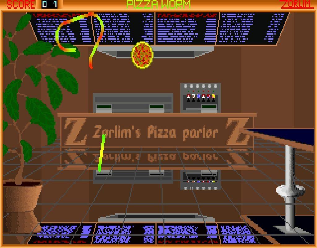 pworm03 1024x800 - Pizza Worm (MS DOS, 1994)