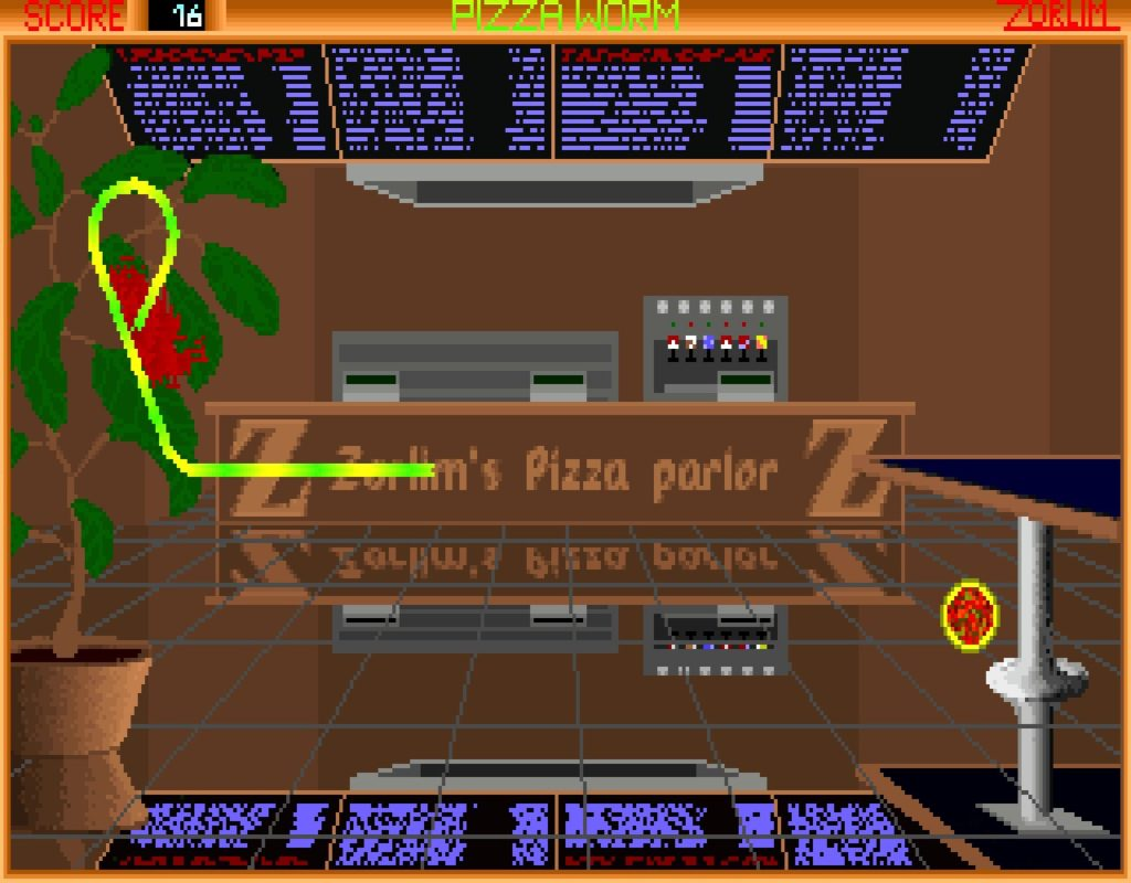 pworm04 1024x800 - Pizza Worm (MS DOS, 1994)