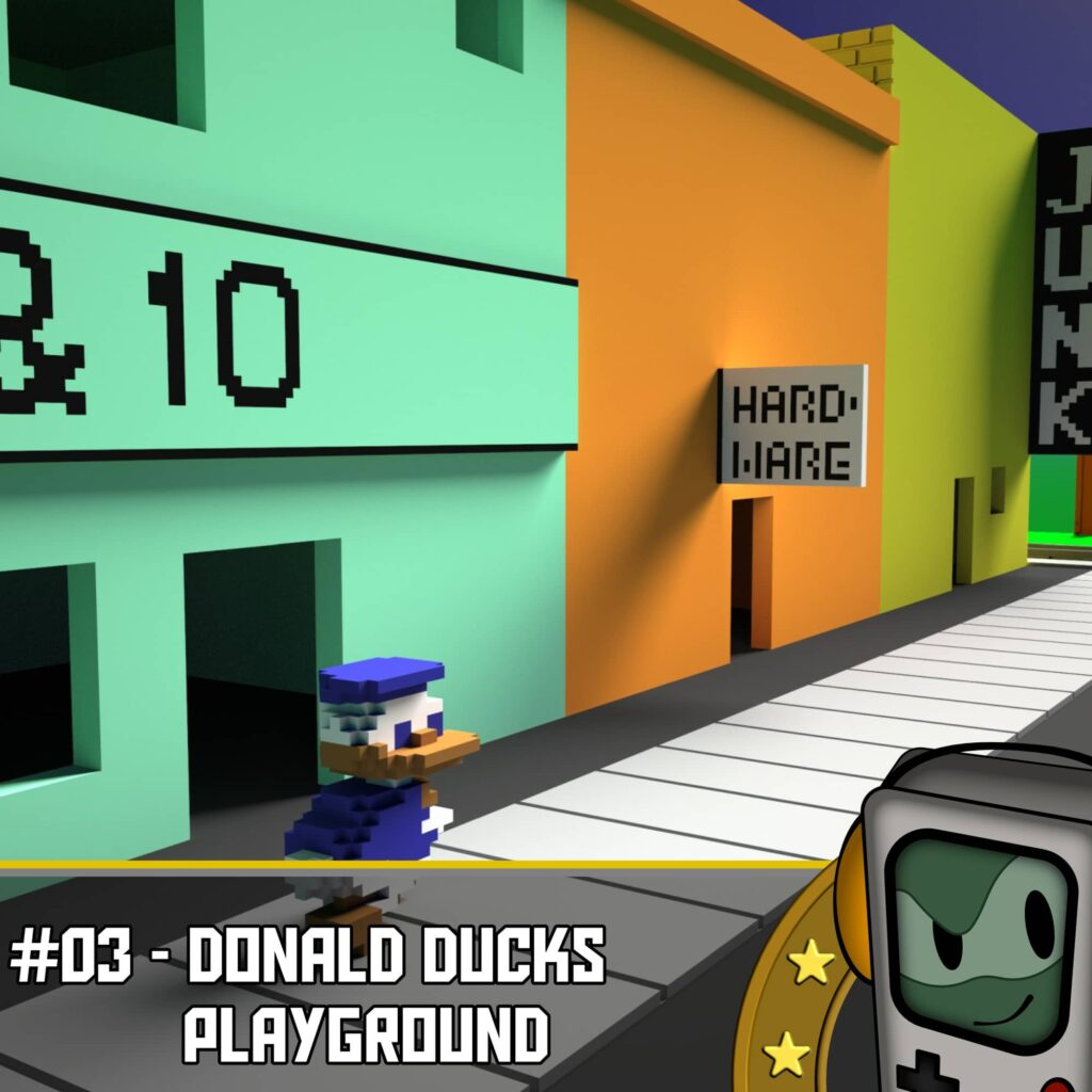 rl donald d pg 1024x1024 - Donald Ducks Playground - Der Melonenjongleur