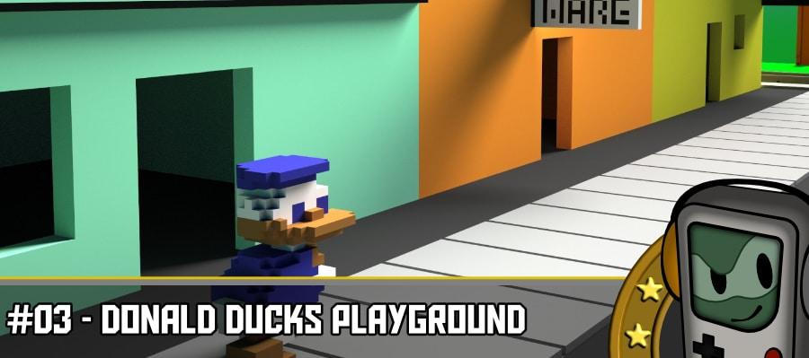 rl donald d pg 900x400 - Donald Ducks Playground - Der Melonenjongleur
