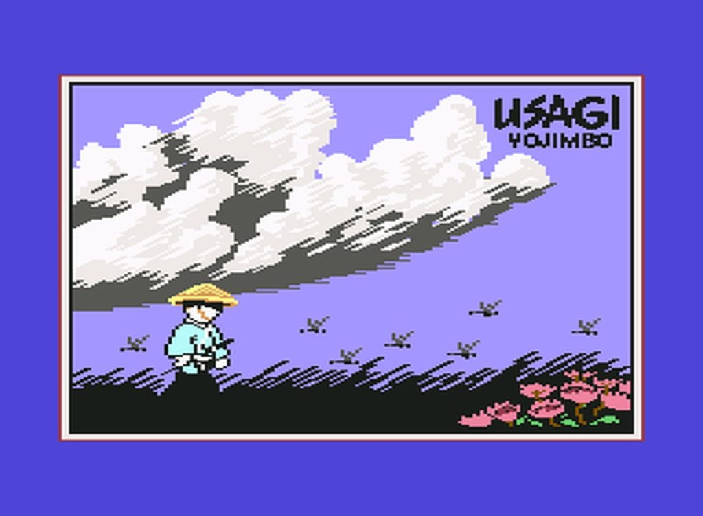 usagi01 1024x752 - Samurai Warrior: The Battles of Usagi Yojimbo (C64, 1988)