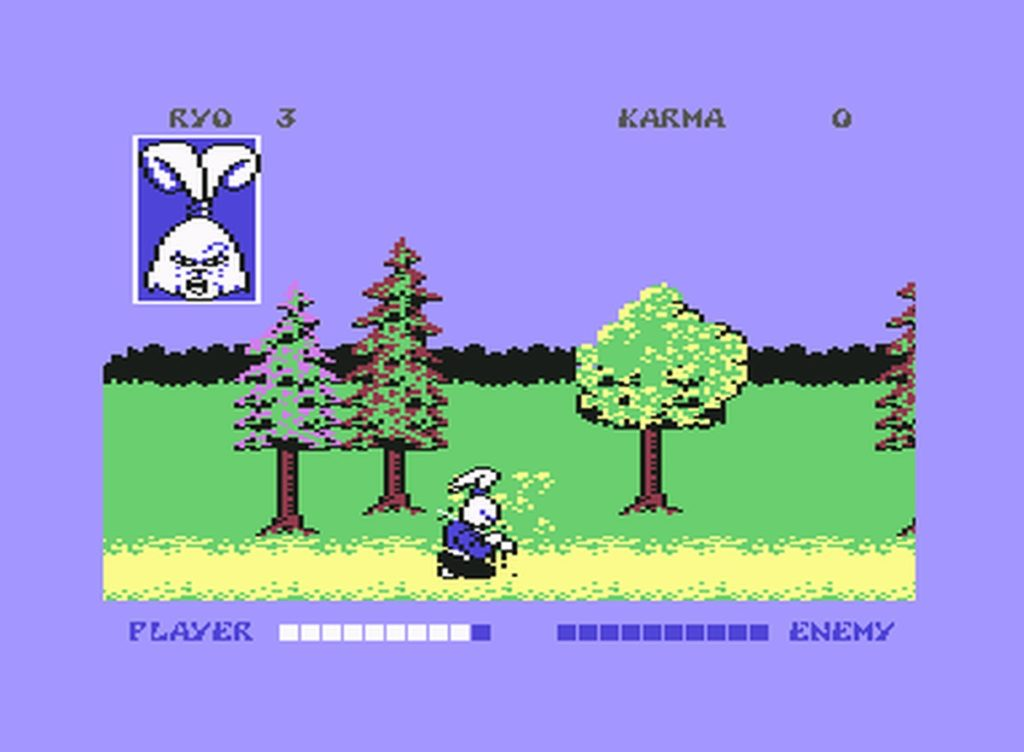 usagi04 1024x752 - Samurai Warrior: The Battles of Usagi Yojimbo (C64, 1988)