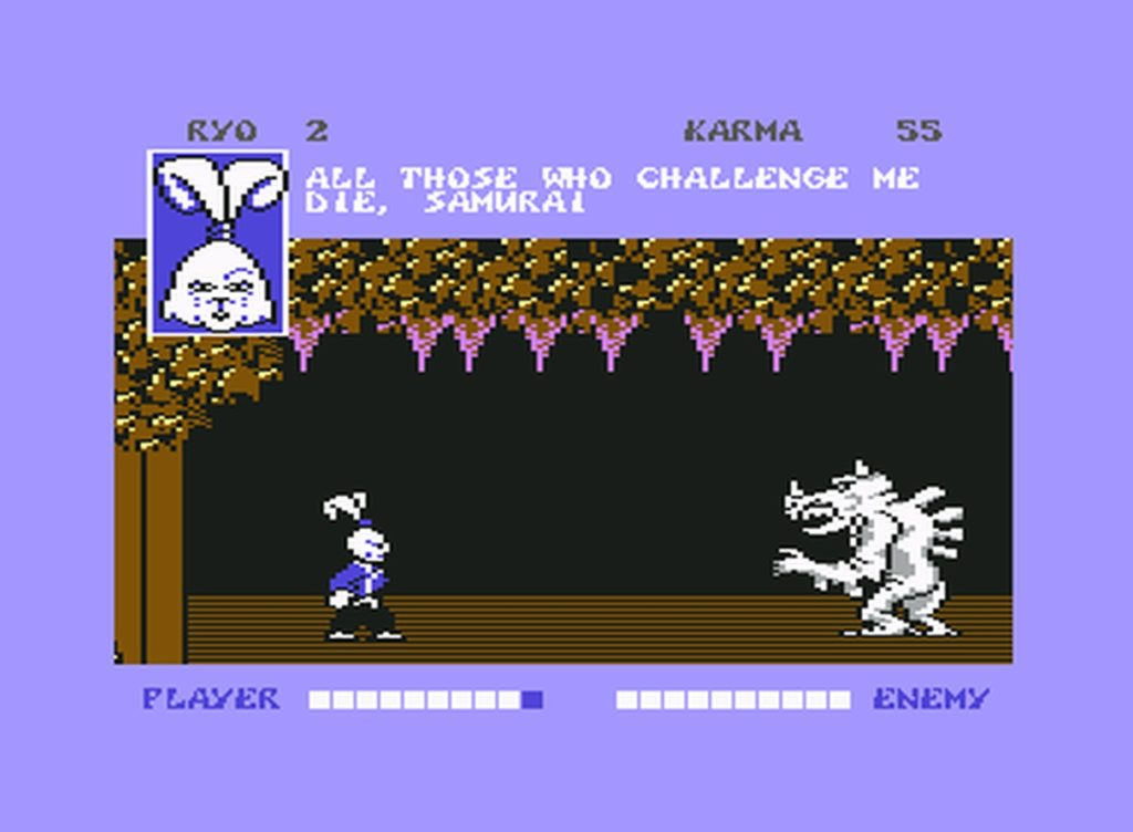 usagi07 1024x752 - Samurai Warrior: The Battles of Usagi Yojimbo (C64, 1988)