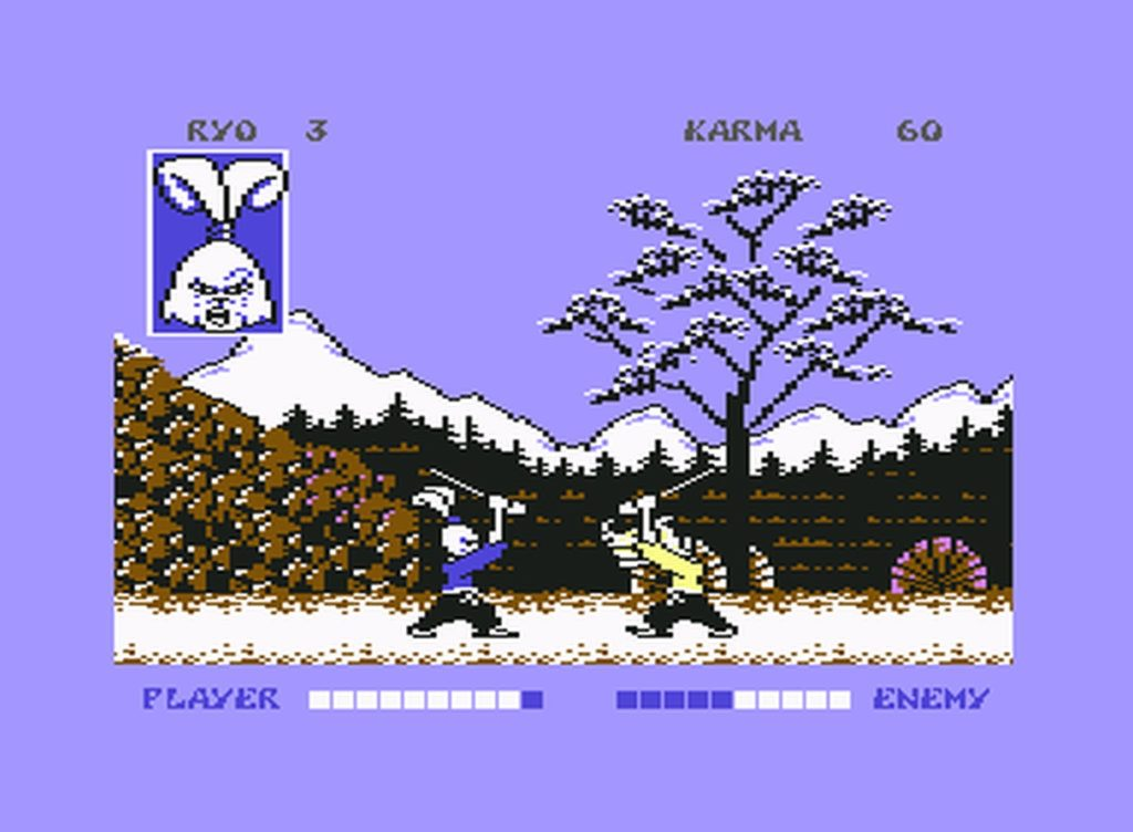 usagi08 1024x752 - Samurai Warrior: The Battles of Usagi Yojimbo (C64, 1988)