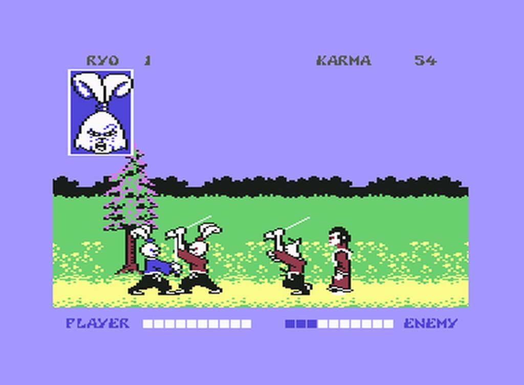 usagi14 1024x752 - Samurai Warrior: The Battles of Usagi Yojimbo (C64, 1988)