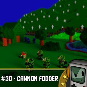 Cannon Fodder - Silberfischchen am Monitor
