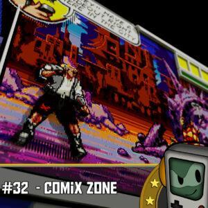 Comix Zone - Zeichnen mit Sledge a Sketch