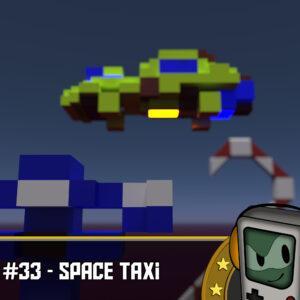 Space Taxi (C64) - Der Erfinder des F-Pads