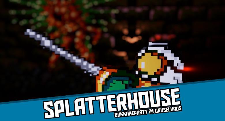 Splatterhouse2000 780x420 - Splatterhouse - Bukkakeparty im Gruselhaus