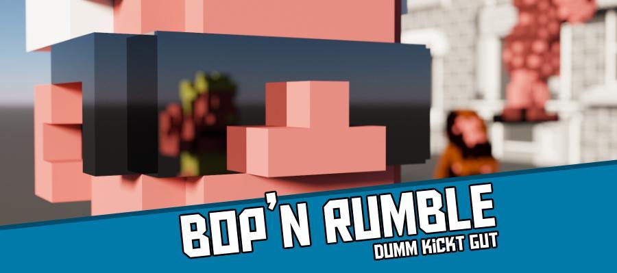 Bopnrumble2000 900x400 - Bop´n Rumble (C64) - Dumm kickt gut