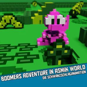 Boomers Adventure in Asmik World (GB) - Die Schwanzschlaganimation