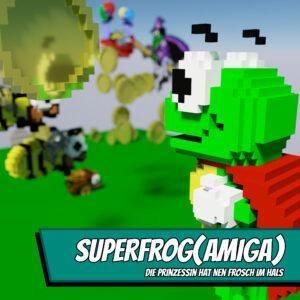 Superfrog - Die Prinzessin hat nen Frosch im Hals