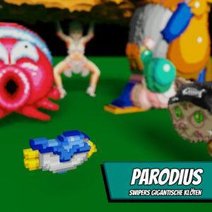 Parodius - Swipers gigantische Klöten