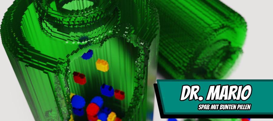 DrMario 900x400 - Dr. Mario - Spaß mit bunten Pillen