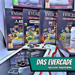 PixelPoldis Praxisprüfung - Das Evercade Handheld