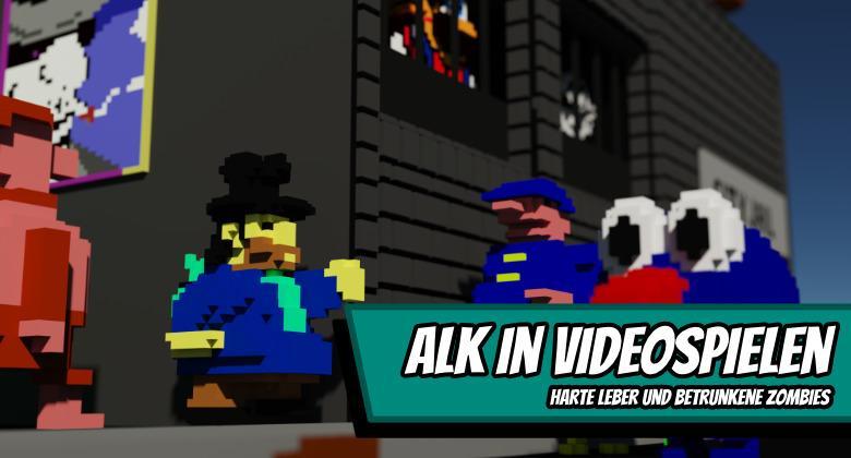 alcohol 780x420 - Alk in Videospielen - Harte Leber und betrunkene Zombies